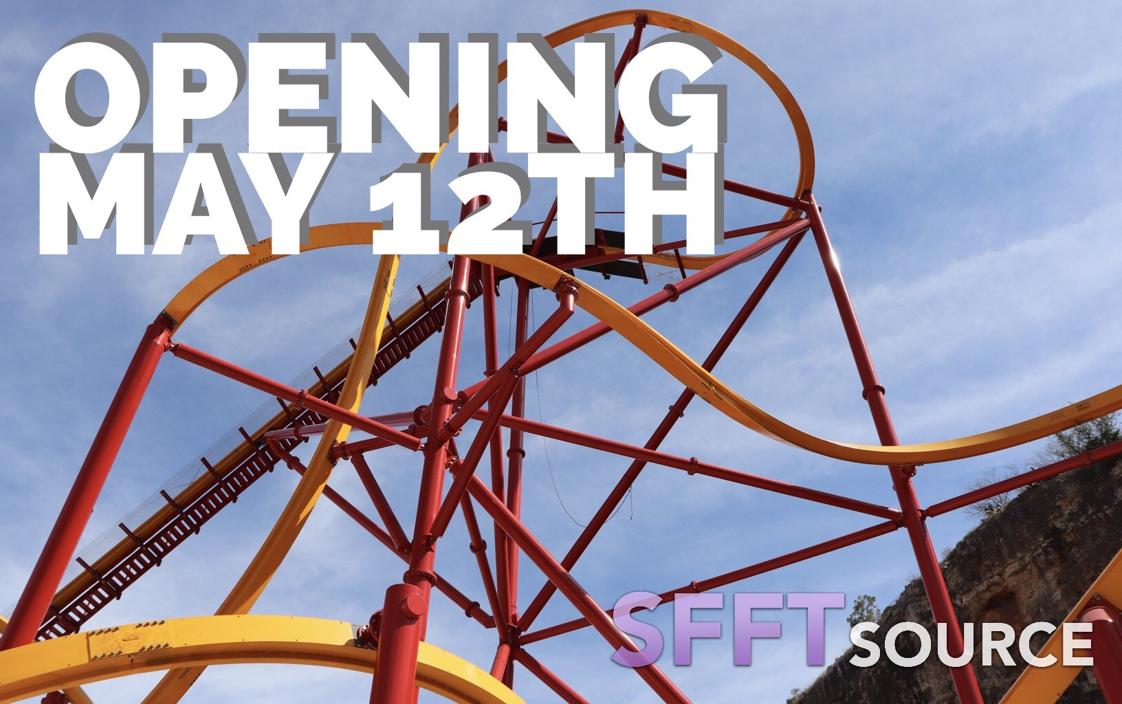 Wonder Woman Golden Lasso Coaster is set to open May 12th.