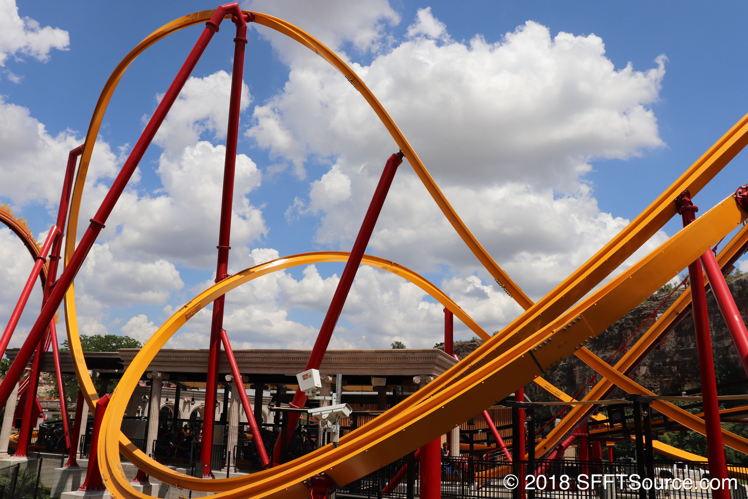 An overall look at some of the ride layout.