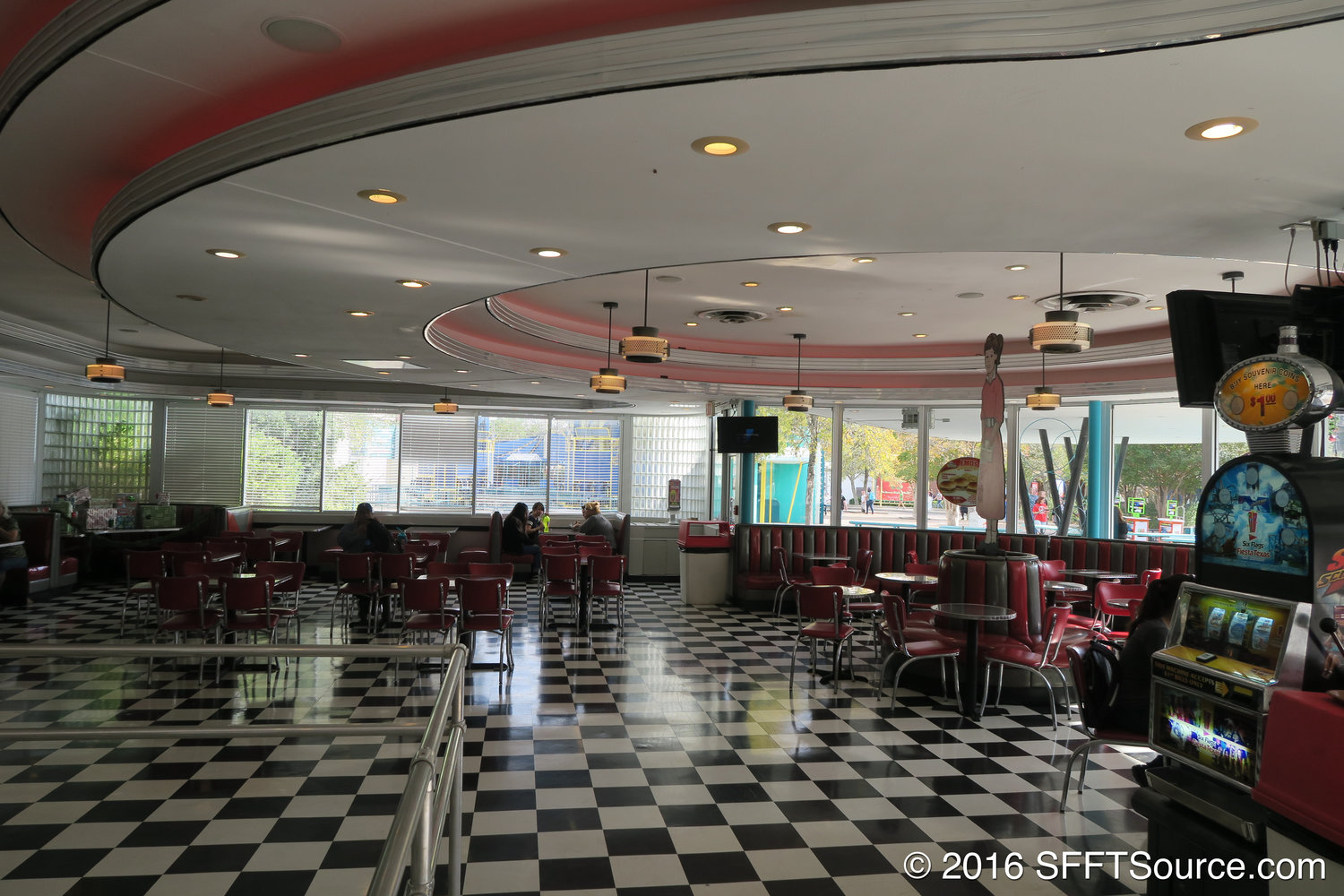 Pete's Eats located in the park's Rockville area.