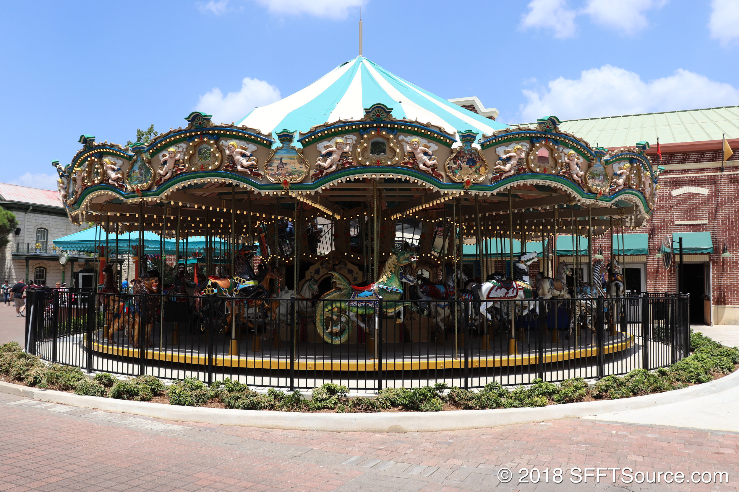 An overall look at Grand Carousel.