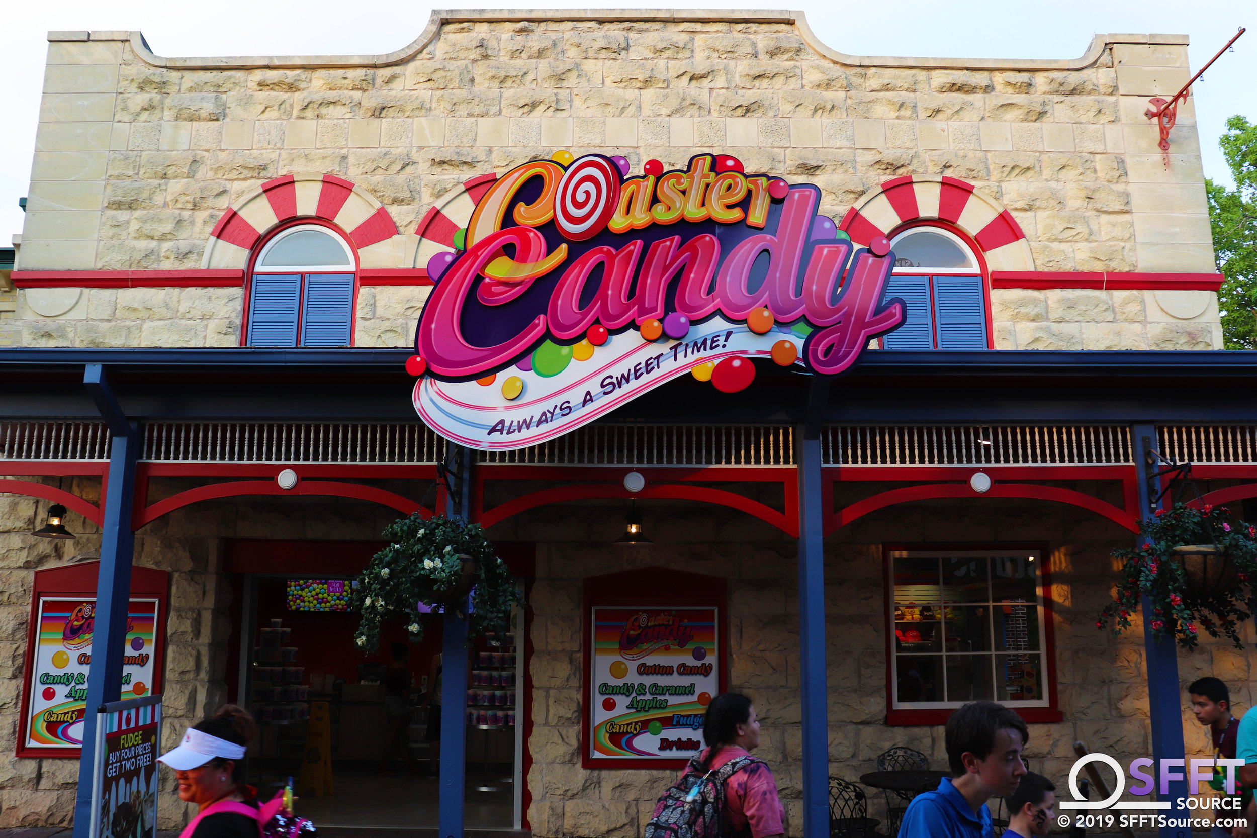 Coaster Candy features numerous sweets options.