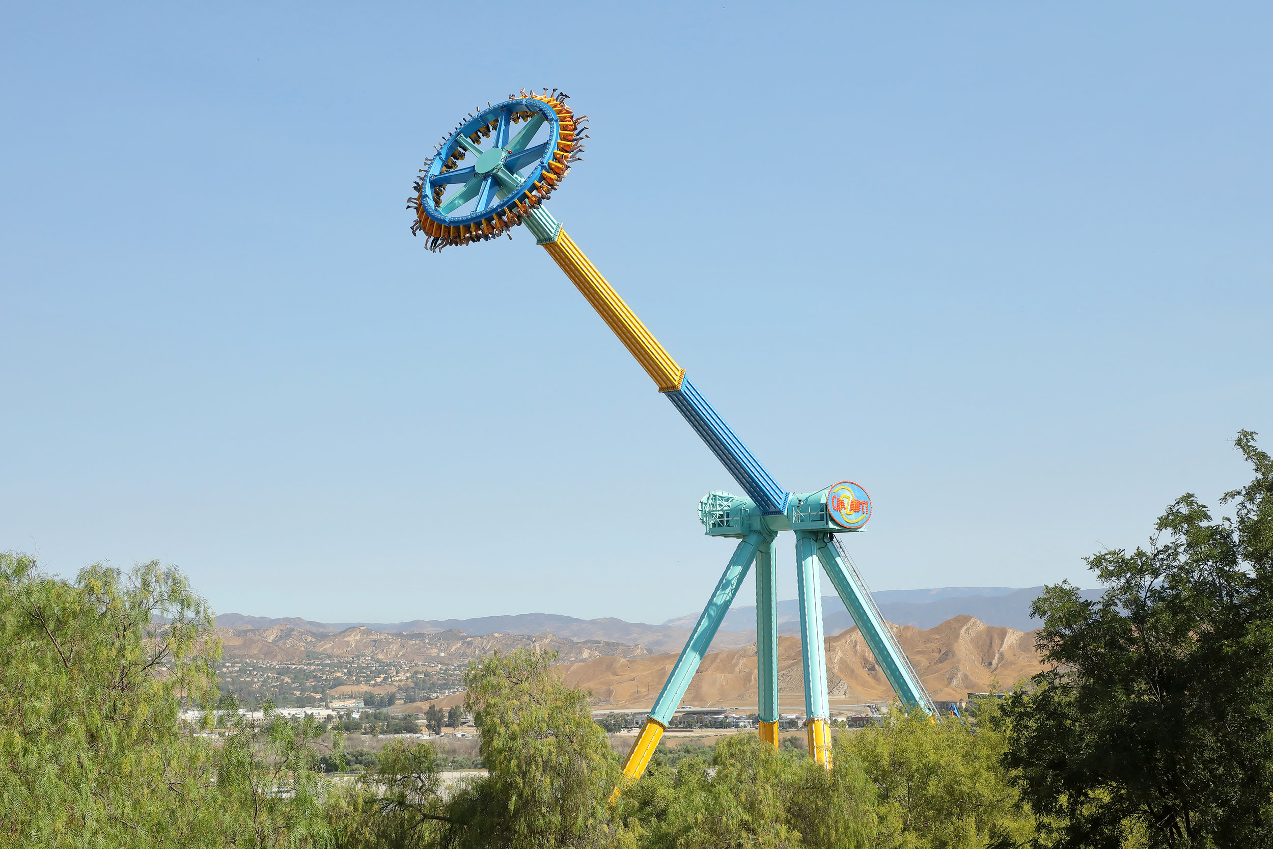 Crazanity in action at Six Flags Magic Mountain. Credit: Business Wire