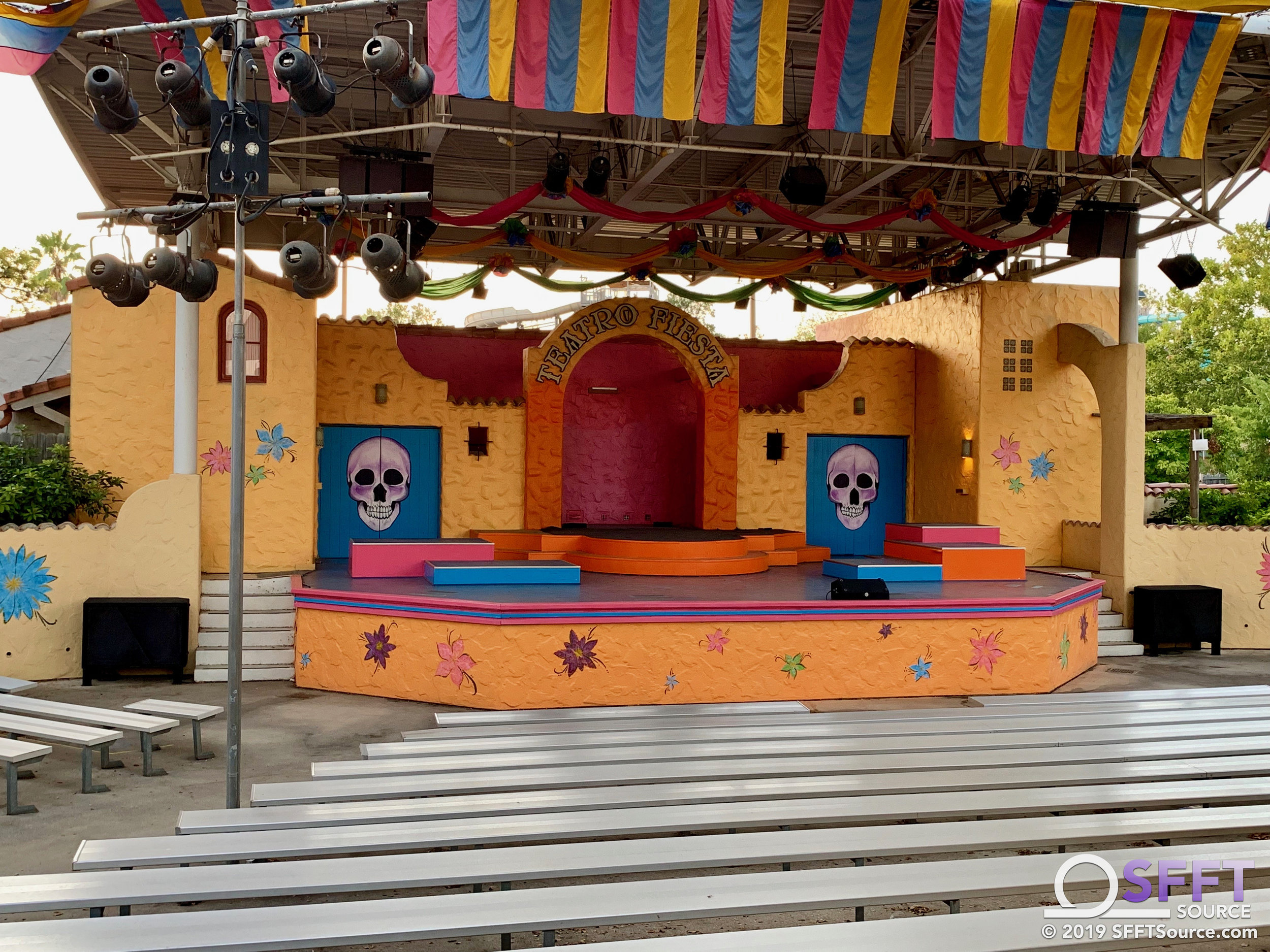 Noche de los Muertos, an all-new show, is coming to Teatro Fiesta for Fright Fest.