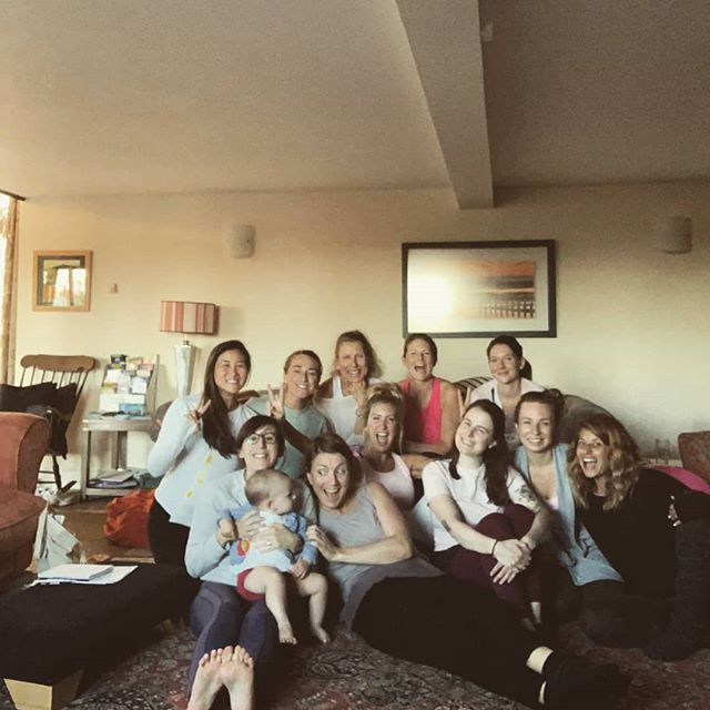 "What an amazing group of women! Have had the best fun and feeling so inspired. Made amazing friendships. Learnt so much. ""Empowered Women...Empower Women!"" Thankyou so Much Sally for all your wisdom @sallyparkesyoga"
