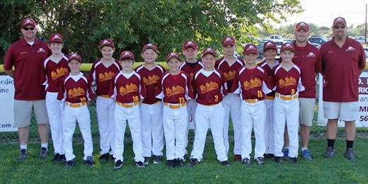 2014 The Dalles Little League All Star Team