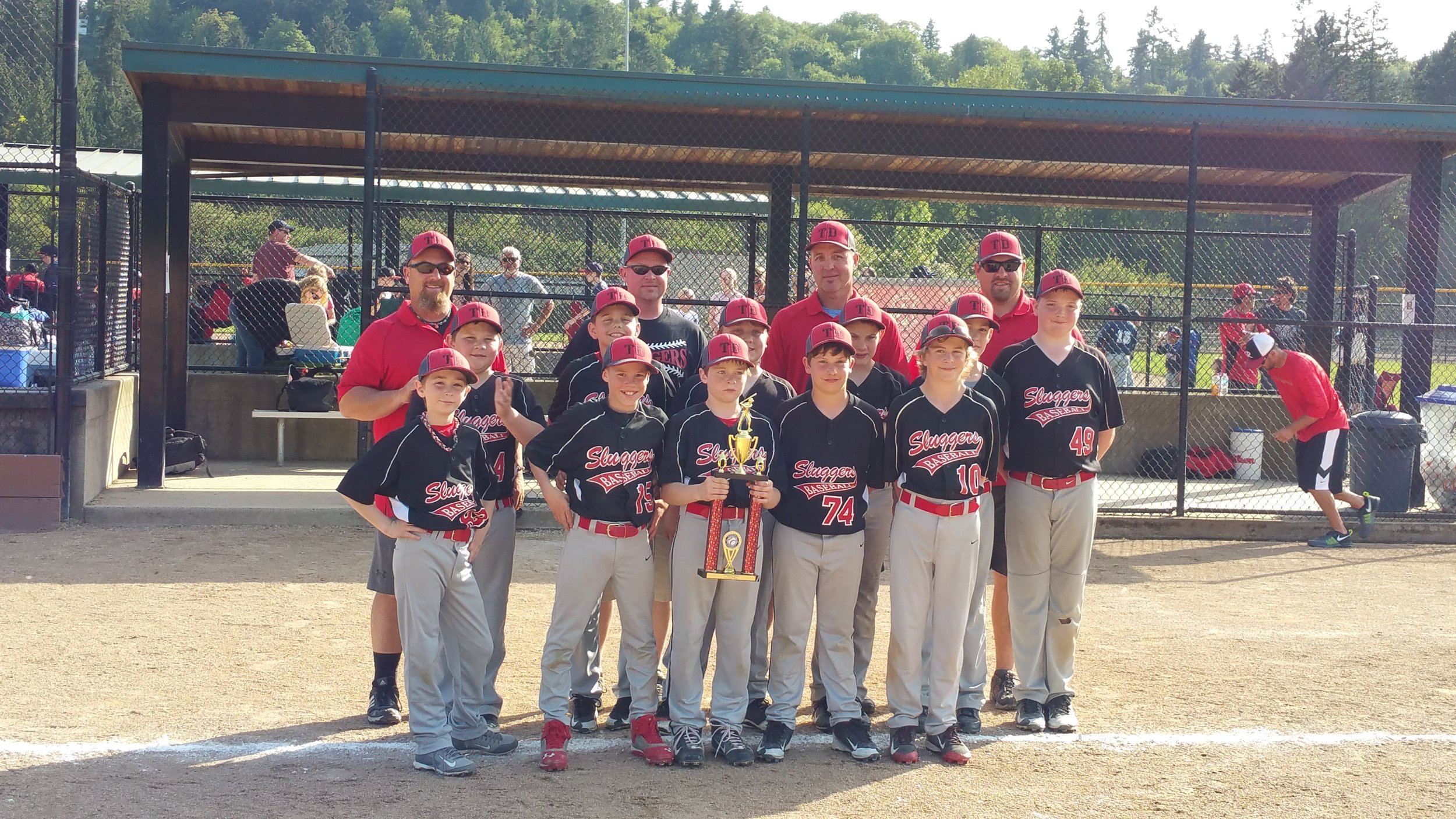 The Dalles Sluggers 2015