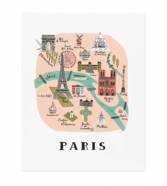 Paris juliste   39,00 €