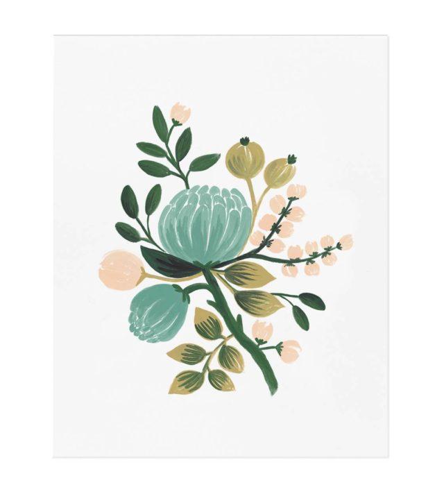 Blue Botanical juliste   29,00 €