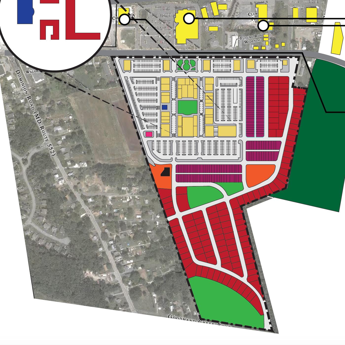 Queen Anne's Village Center: D&F Development LLC