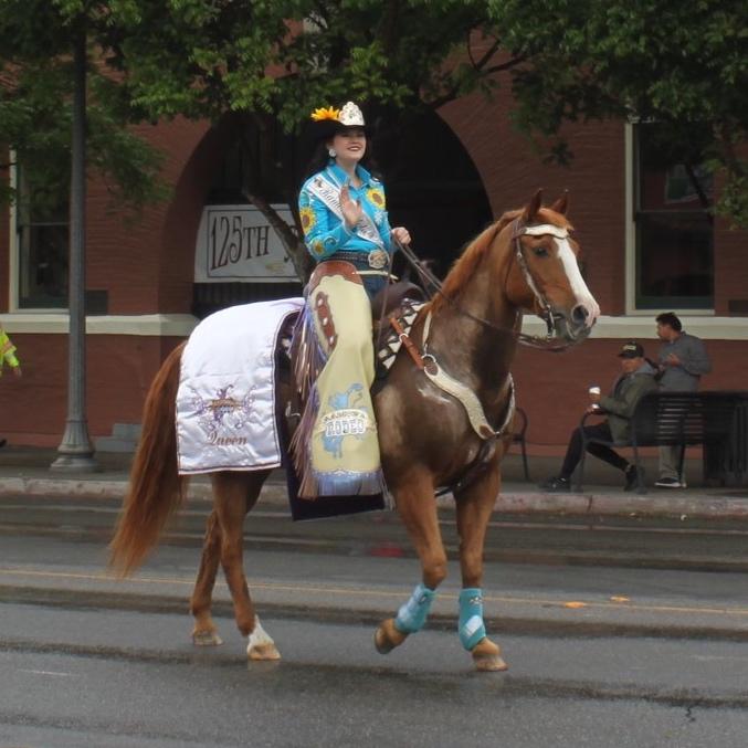 Miss Rodeo Ramona Bridgette LaHaye   Photo by Charlene Pulsonetti