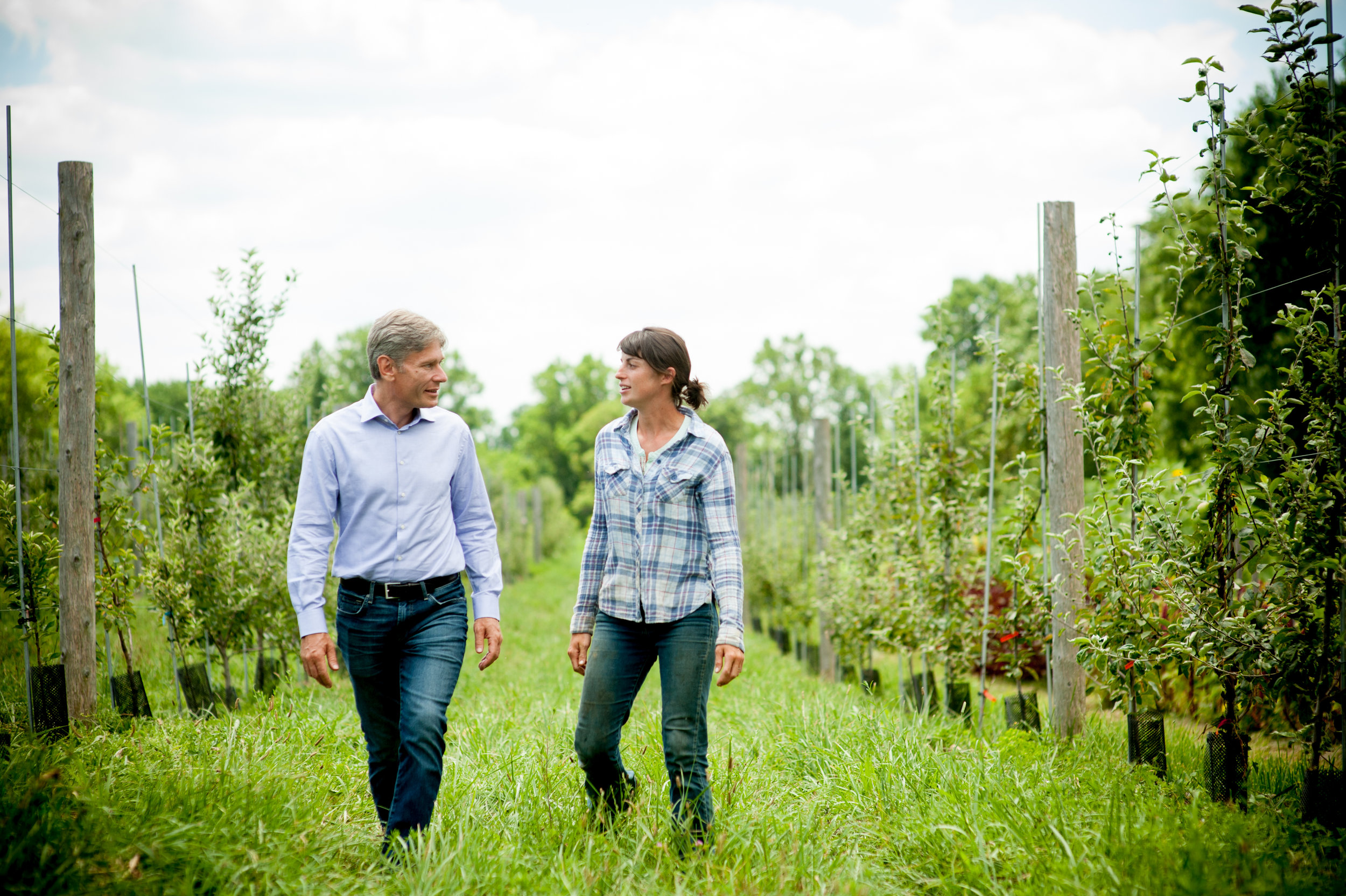 Tom Malinowski Tours NJ Agriculture