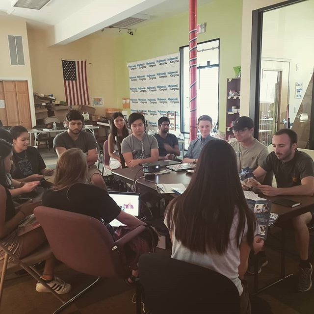 First batch of fall interns getting trained up! #internarmy #flipthehouse #voteblue
