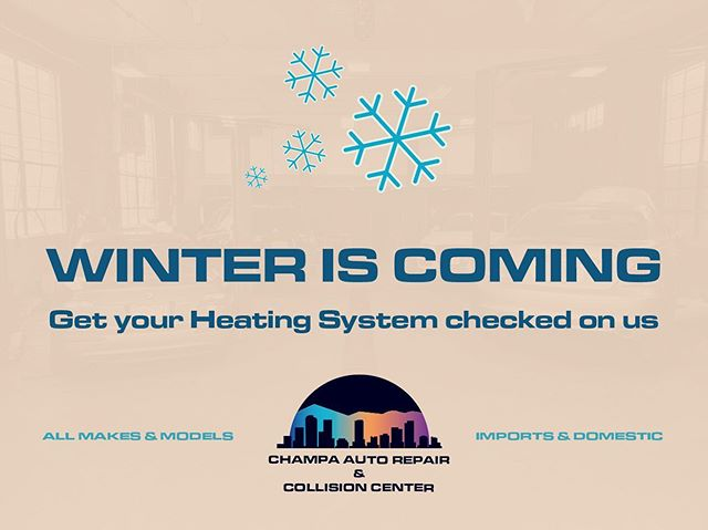Heating issues can significantly damage your engine if not repaired soon enough. Get yours fixed before getting left out in the cold. ❄️ We're offering free diagnostic for heating until 10/31.