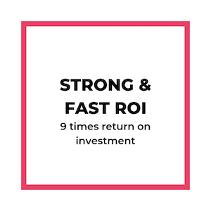 Strong & Fast ROI