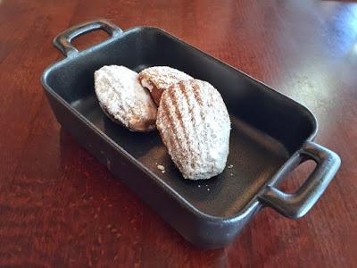 Warm Baked Madeleines