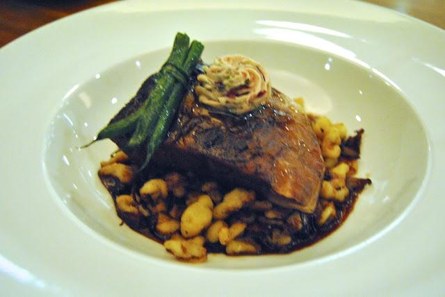 Boneless Beef Short Ribs - alsatians spätzle, wild mushroom, marchant de vin butter