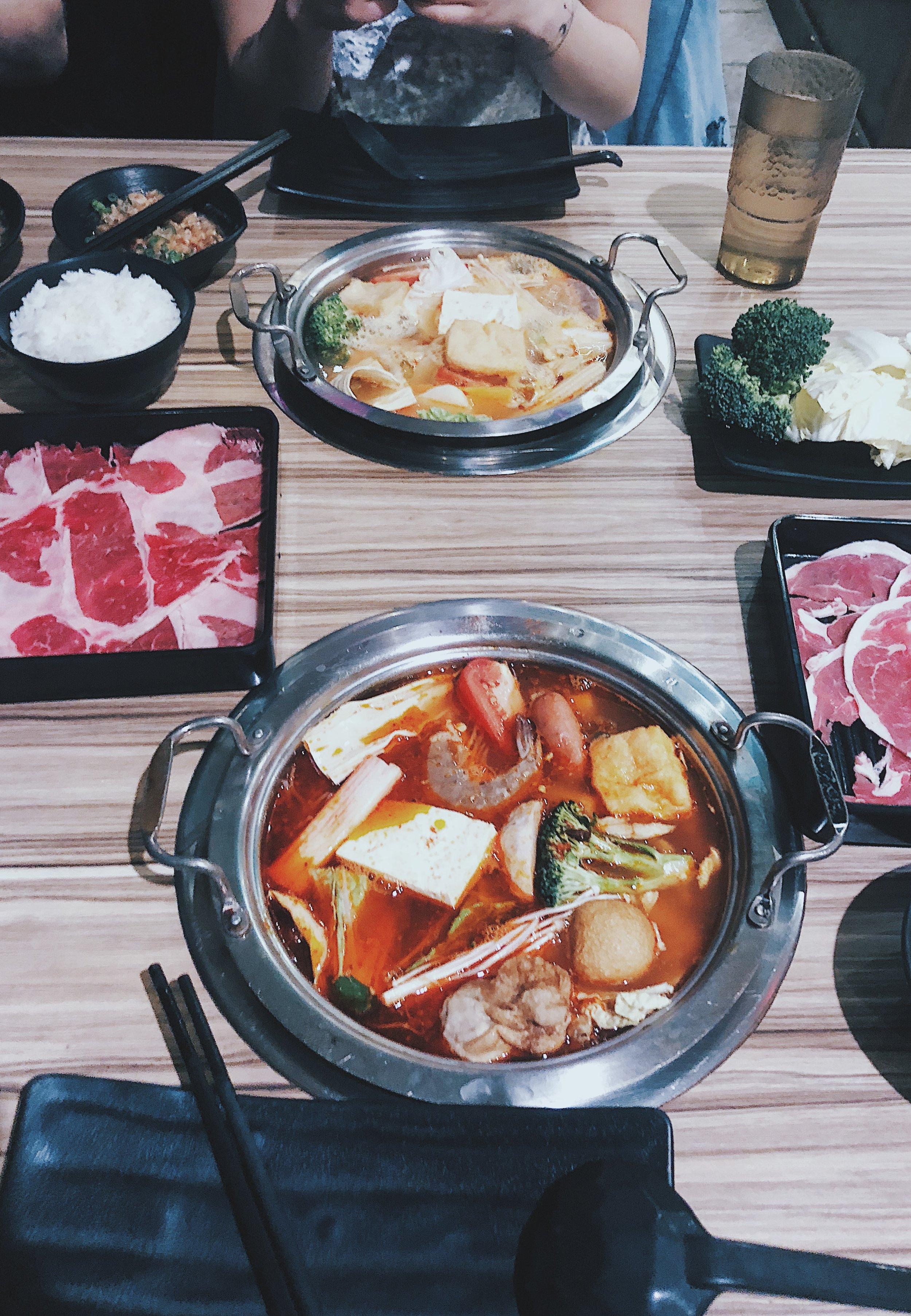 Szechuan Spicy Soup with Lamb