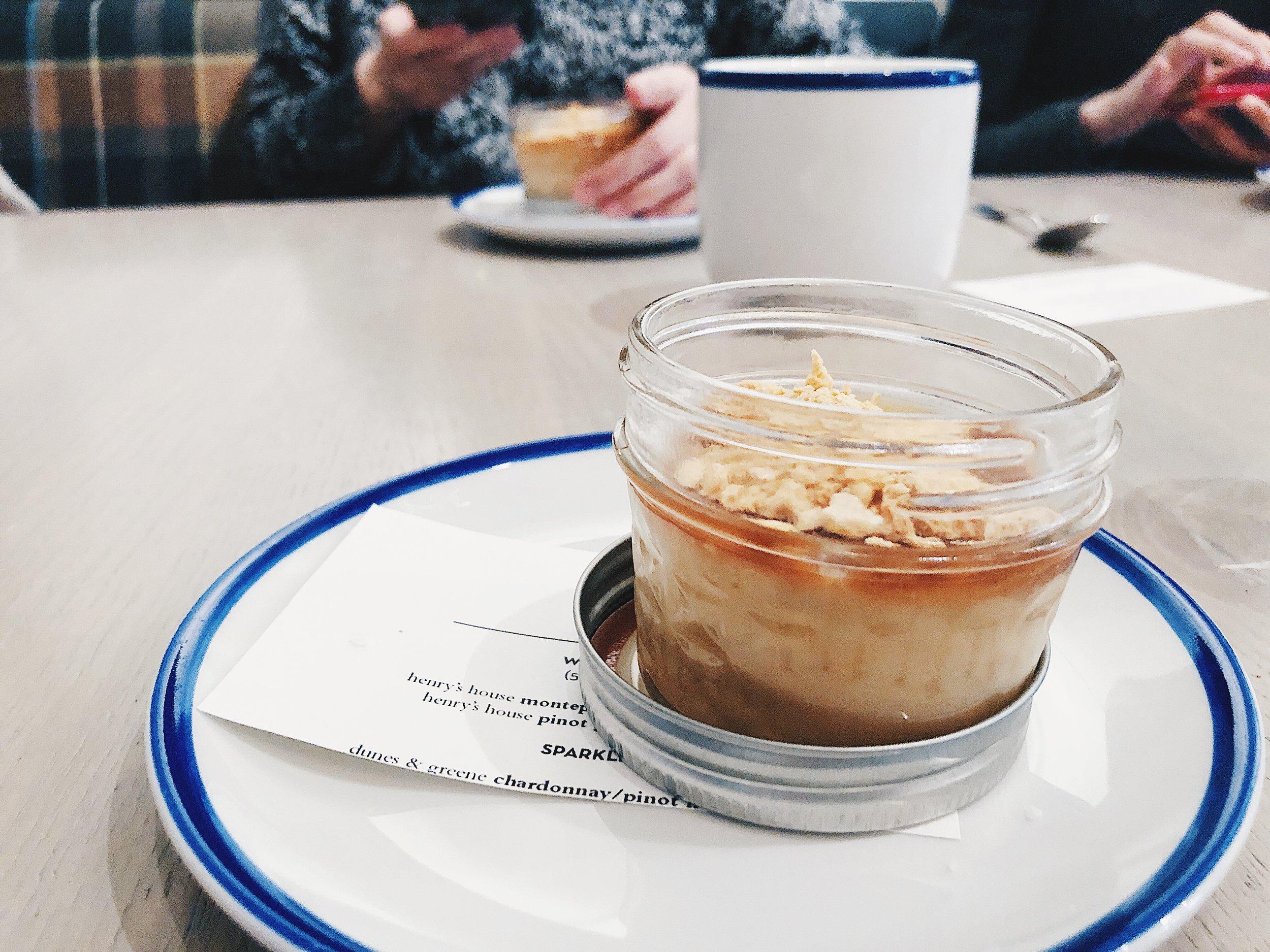 BUTTERSCOTCH   PUDDING  - sponge toffee, more butterscotch