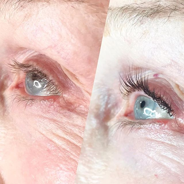 A lash lift and tint looks amazing at ANY age! 💕