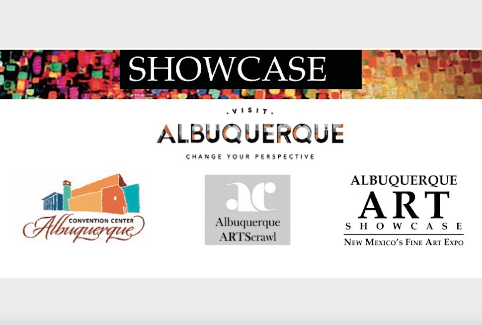 About the Albuquerque Art Showcase   The Albuquerque Art Business Association (The ARTScrawl people) is honored to partner with the City of Albuquerque, The Albuquerque Convention Center and Visit Albuquerque to present The 2019 Albuquerque Art Showcase: New Mexico's Fine Art Expo.  Overlapping Santa Fe's Indian Market, we are excited to be part of the largest visual arts weekend in New Mexico. The 2019 Albuquerque Art Showcase is August 15-19 at the Albuquerque Convention Center. The Gala Preview Night is Thursday, August 15 and the doors are open to the general public Friday, Aug 16 thru Monday, August 19, 10-6pm. The 2019 Local Treasures Ceremony will be on Sunday, August 18, and Monday will feature the Local Business Brunch from 10am to Noon.  Visit Albuquerque is our media partner!!! We are working on a huge electronic nation-wide media campaign, plus local bill boards and paid advertising partnering with local radio and television stations.  The Albuquerque Art Showcase will spotlight 125 of the finest artists of New Mexico and beyond. Galleries, guilds, and hundreds of artists will come together to showcase their creative and diverse talents. This is the first time that all of Albuquerque's visual arts organizations will be housed under the same roof. These include: New Mexico Water Color Society, New Mexico Pastel Society, Rio Grande Arts Association, and the New Mexico Plein Air Painters Association. The Showcase will take place in the south west exhibit hall of the Albuquerque Convention Center right across from Civic Plaza.