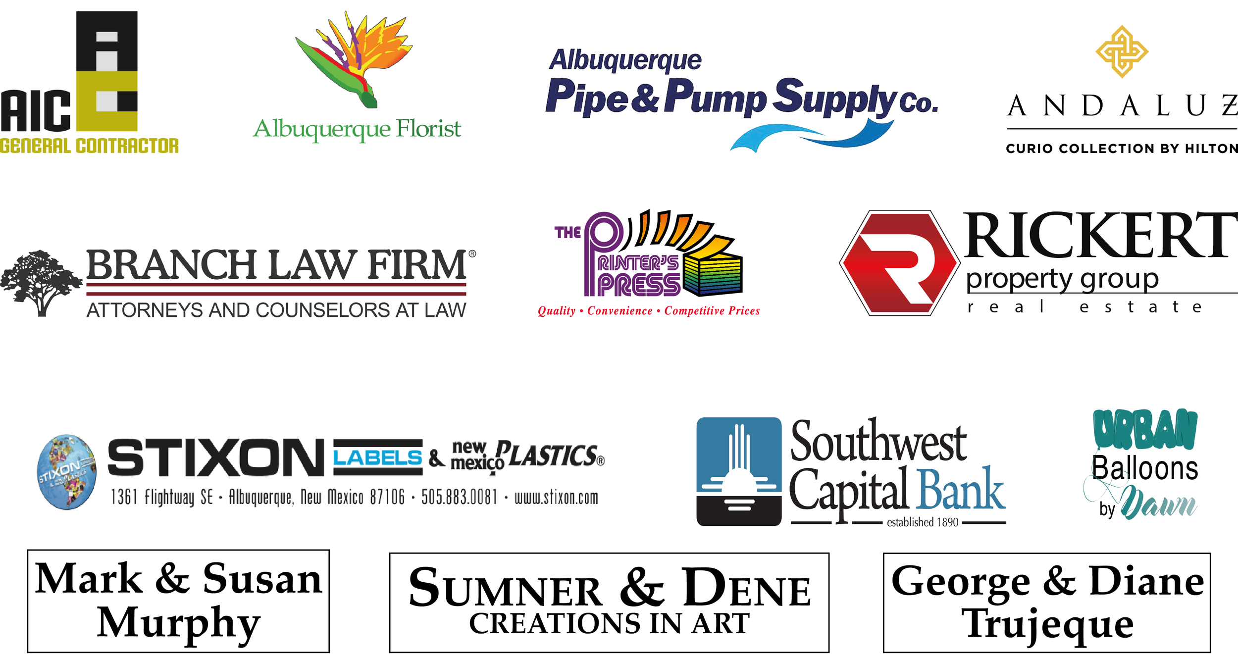 Special Thanks to our Gala sponsors - For more about our Gala sponsor click here…