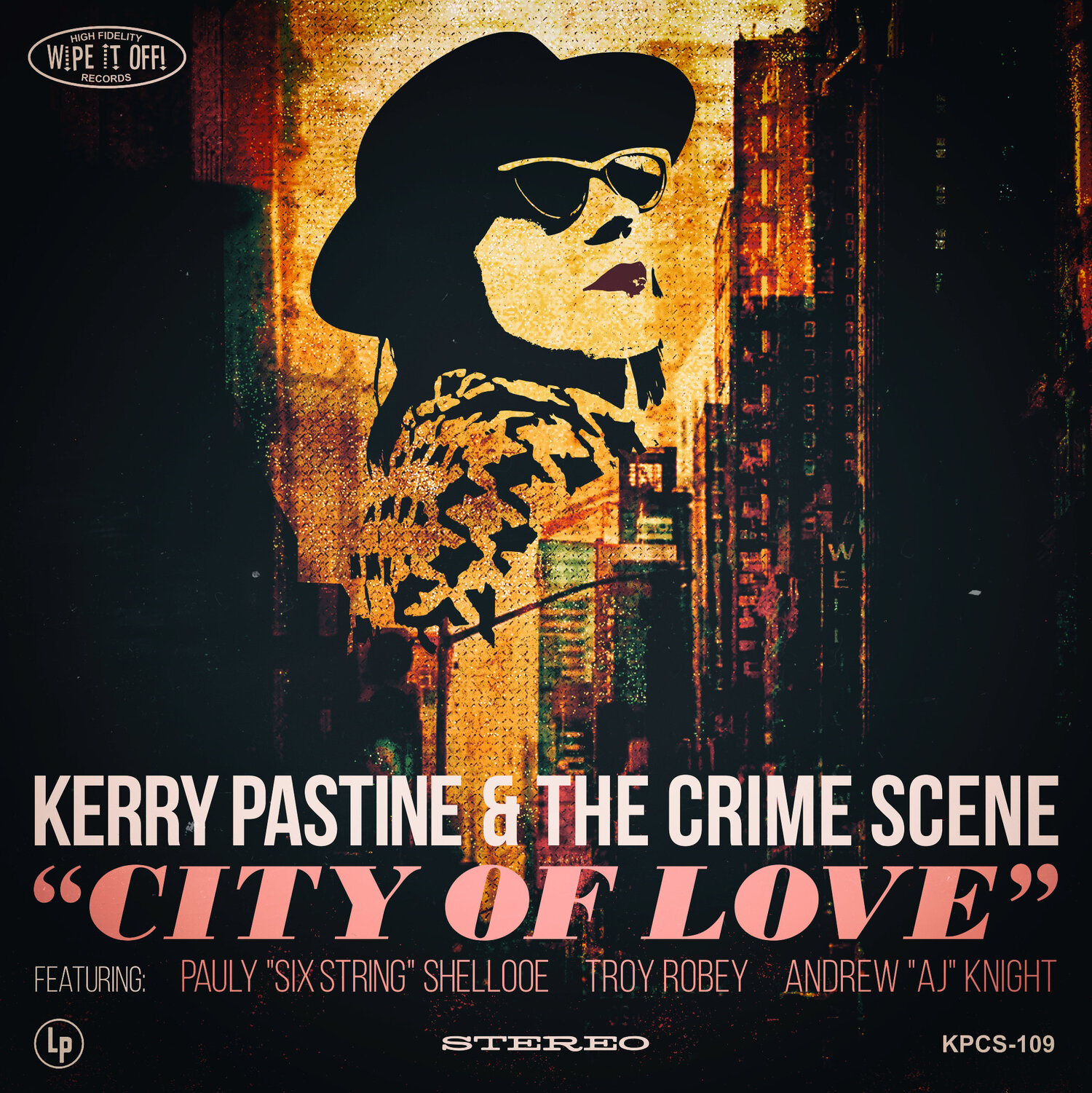 City of Love (9/2019) - The latest release from Kerry Pastine and the Crime Scene starts with her vintage roots and takes her sound boldly into the future. Pastine explores themes of growth, joy and loss. Her songwriting and song choice shows maturity and brings additional depth to the blues party that is the Crime Scene.