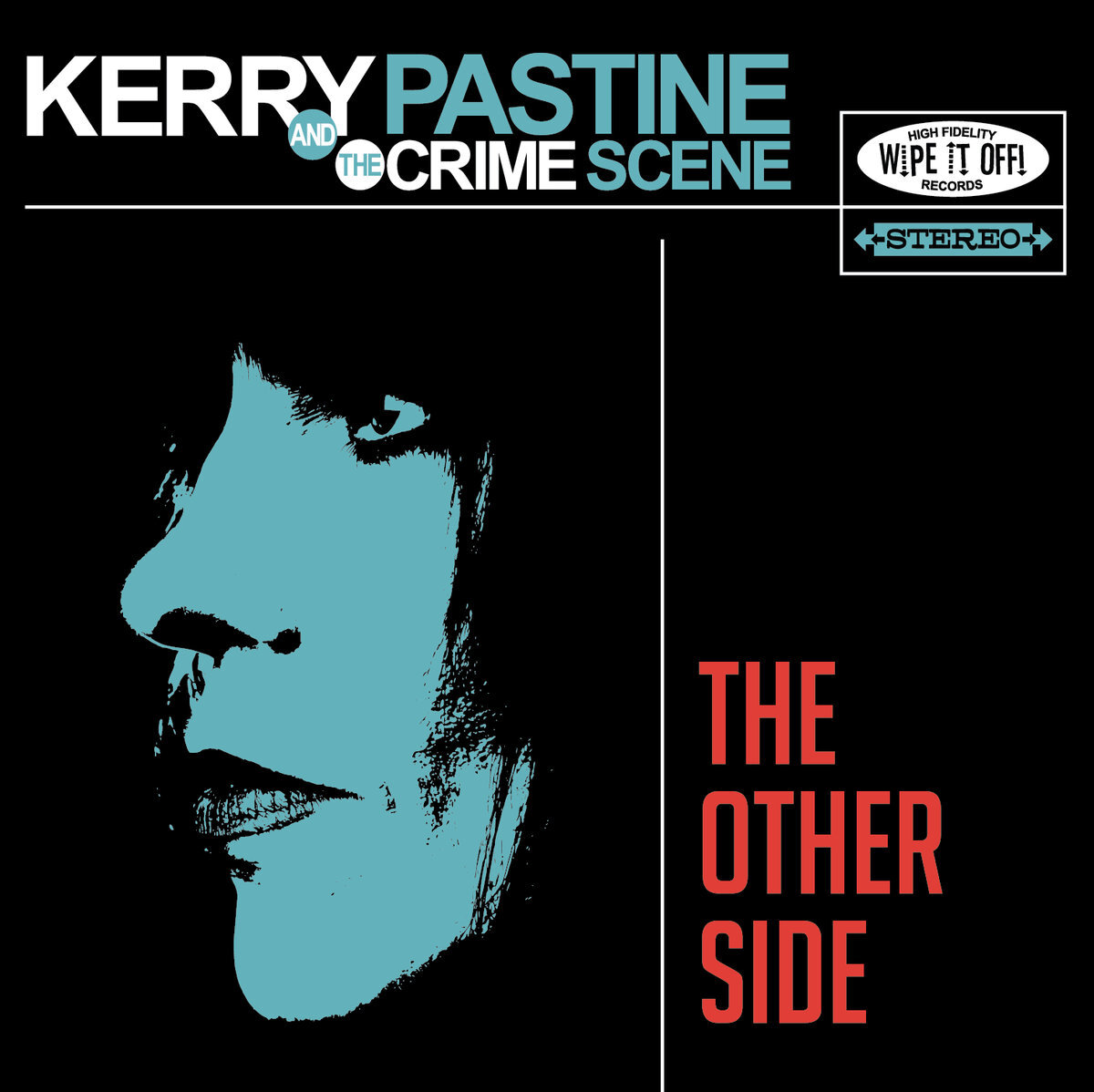 """The Other Side (8/2014) - The debut album that started it all. Kerry & Paul spent over a year writing and recording the initial batch of songs that would become the heart and soul of the Crime Scene. """"The Other Side is the audio proof, an eclectic collection of songs that couldn't have come without raw talent mixed in with all that hard work. Simply put, Pastine's voice could bring the smokiest, sweatiest dive bar to its knees."""" - Colorado Music Buzz"""
