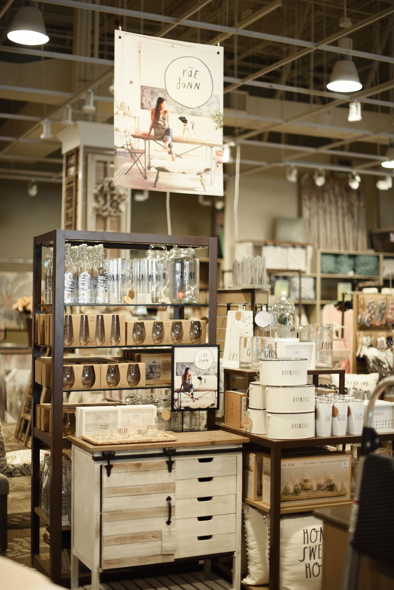 Why Kirkland's? - With products already available in plenty of stores, why the partnership between Rae Dunn and Kirkland's? In her mind, it's a perfect match.