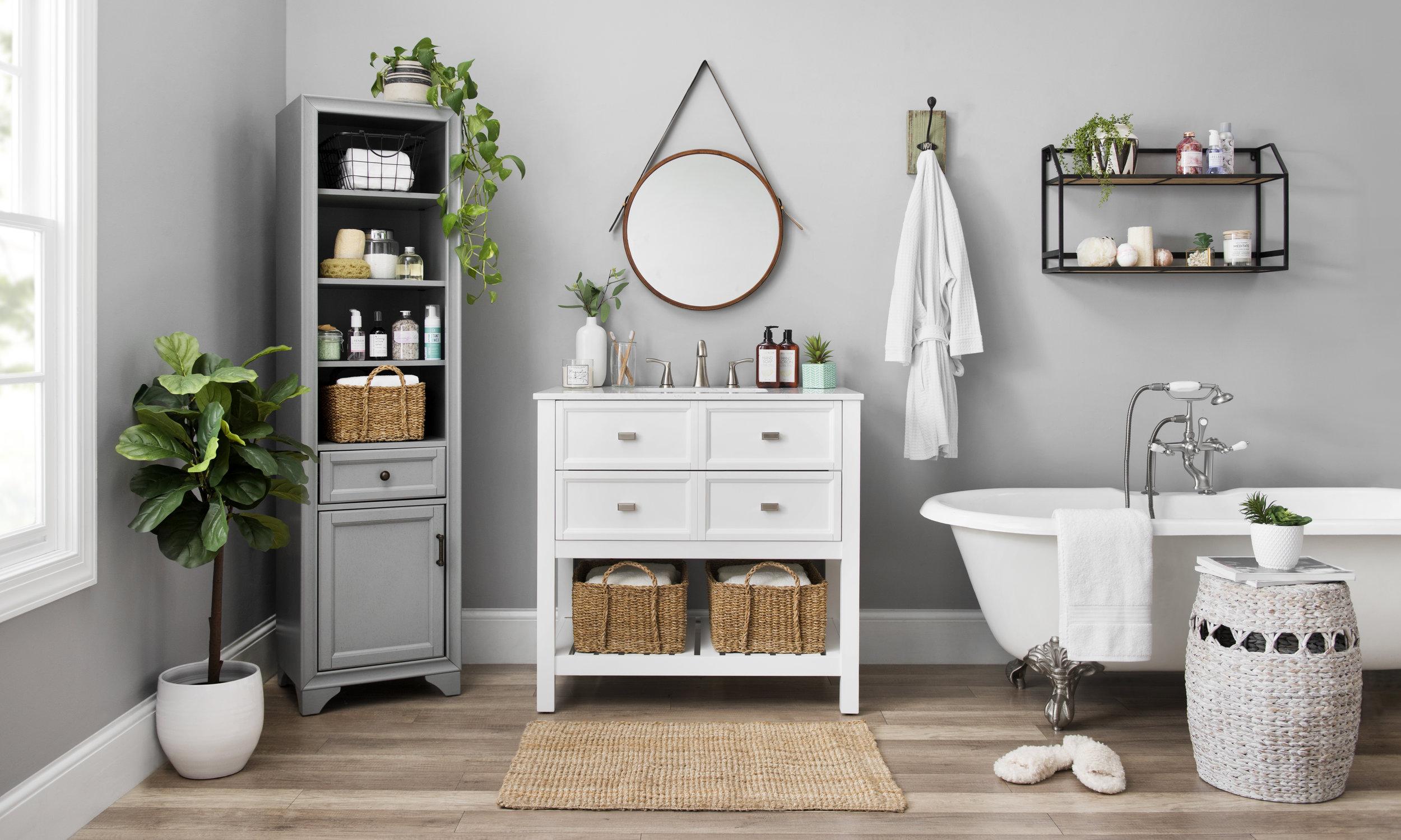 Kirkland's - Bathroom Organization