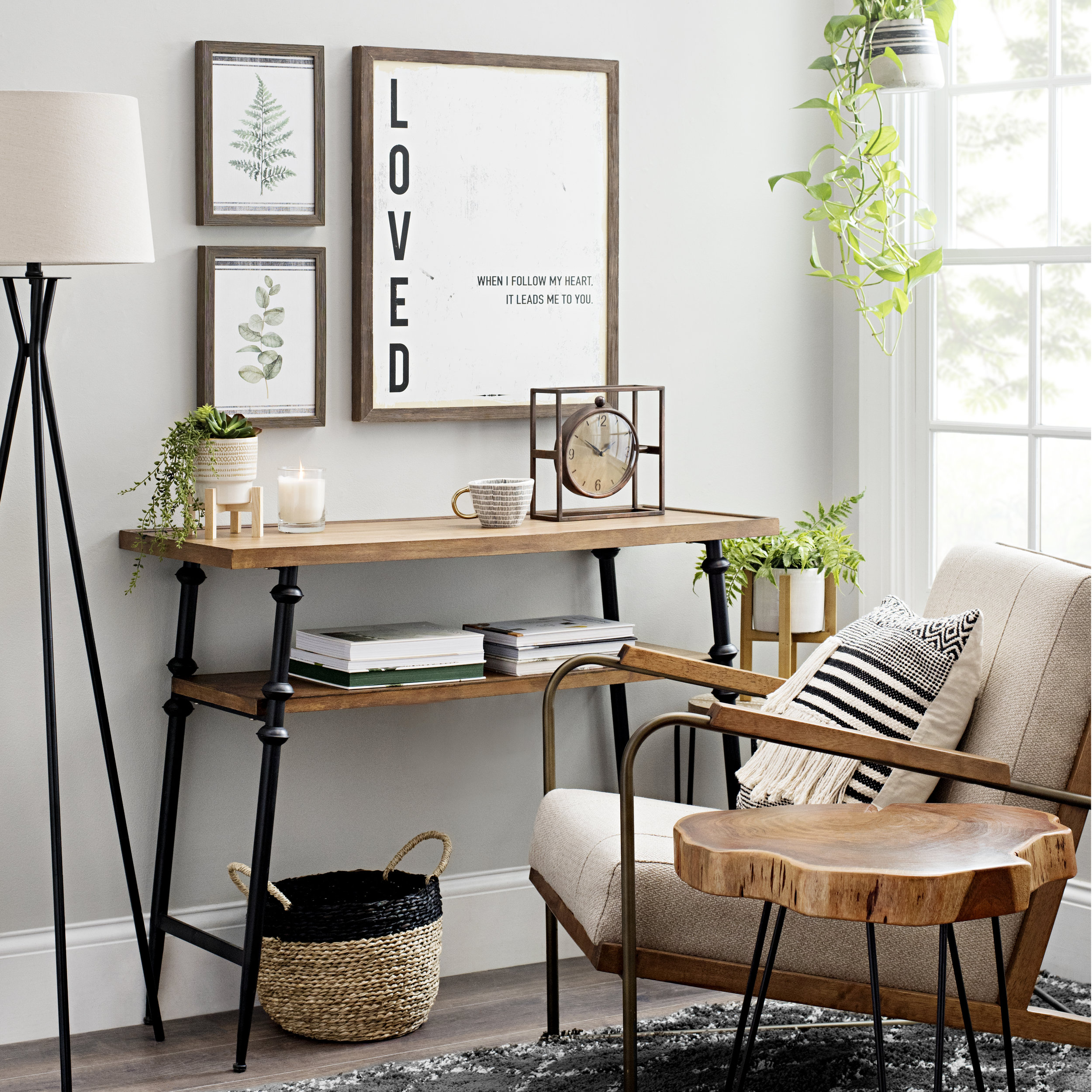 Kirkland's - Metal and Wood Desk