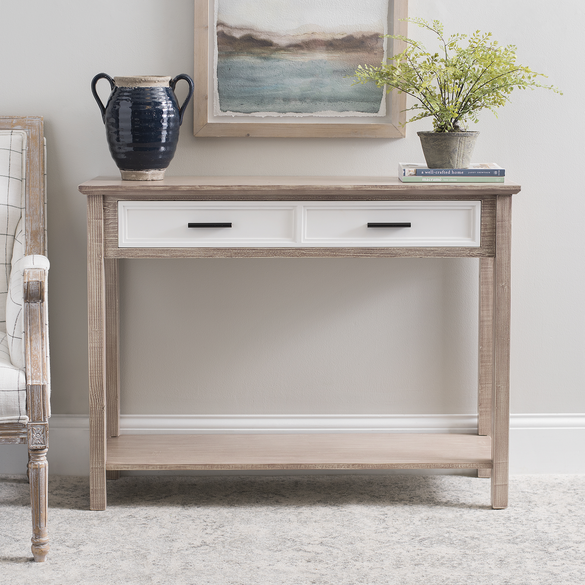Kirkland's - Natural Console Table