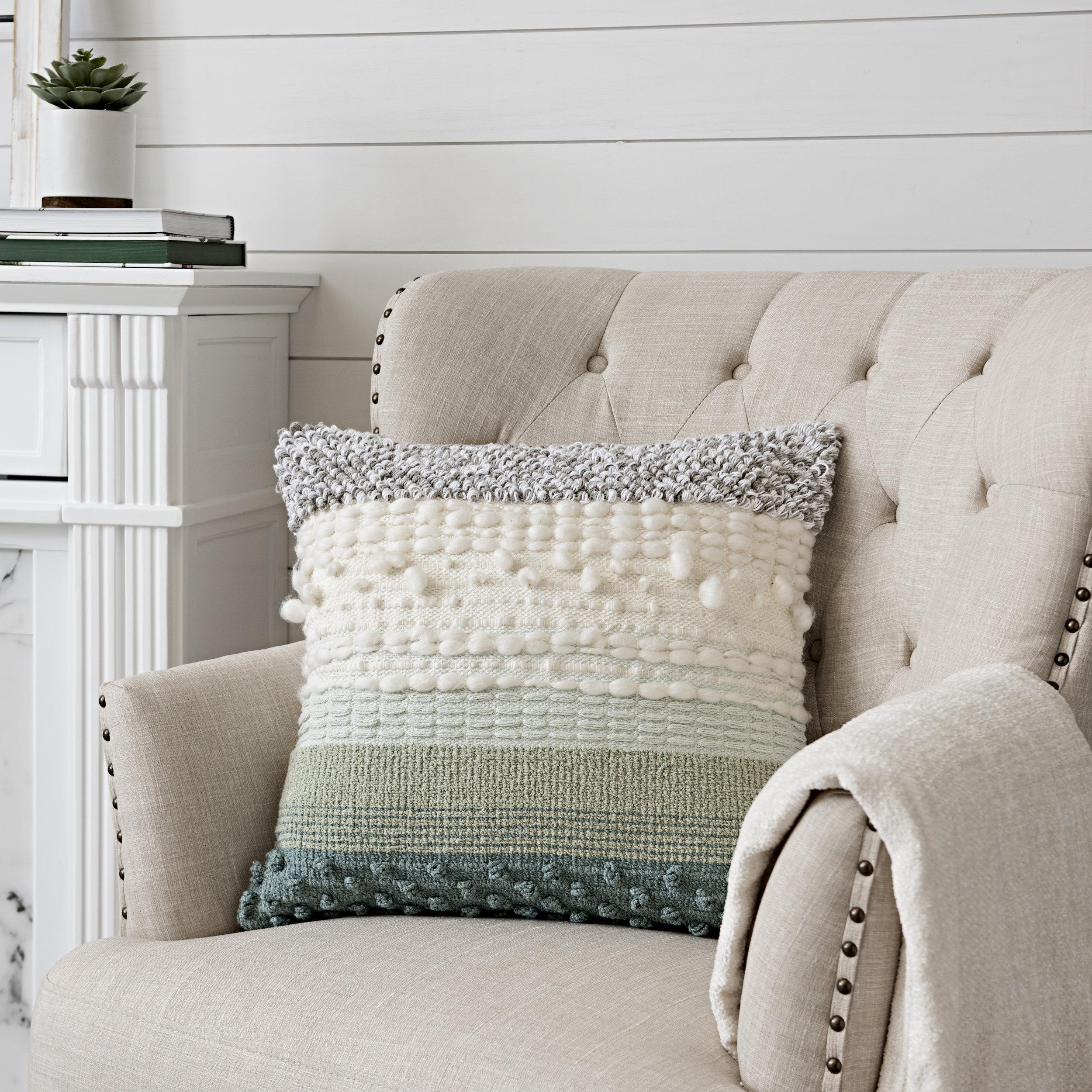Kirkland's - Skyler Textured Pillow