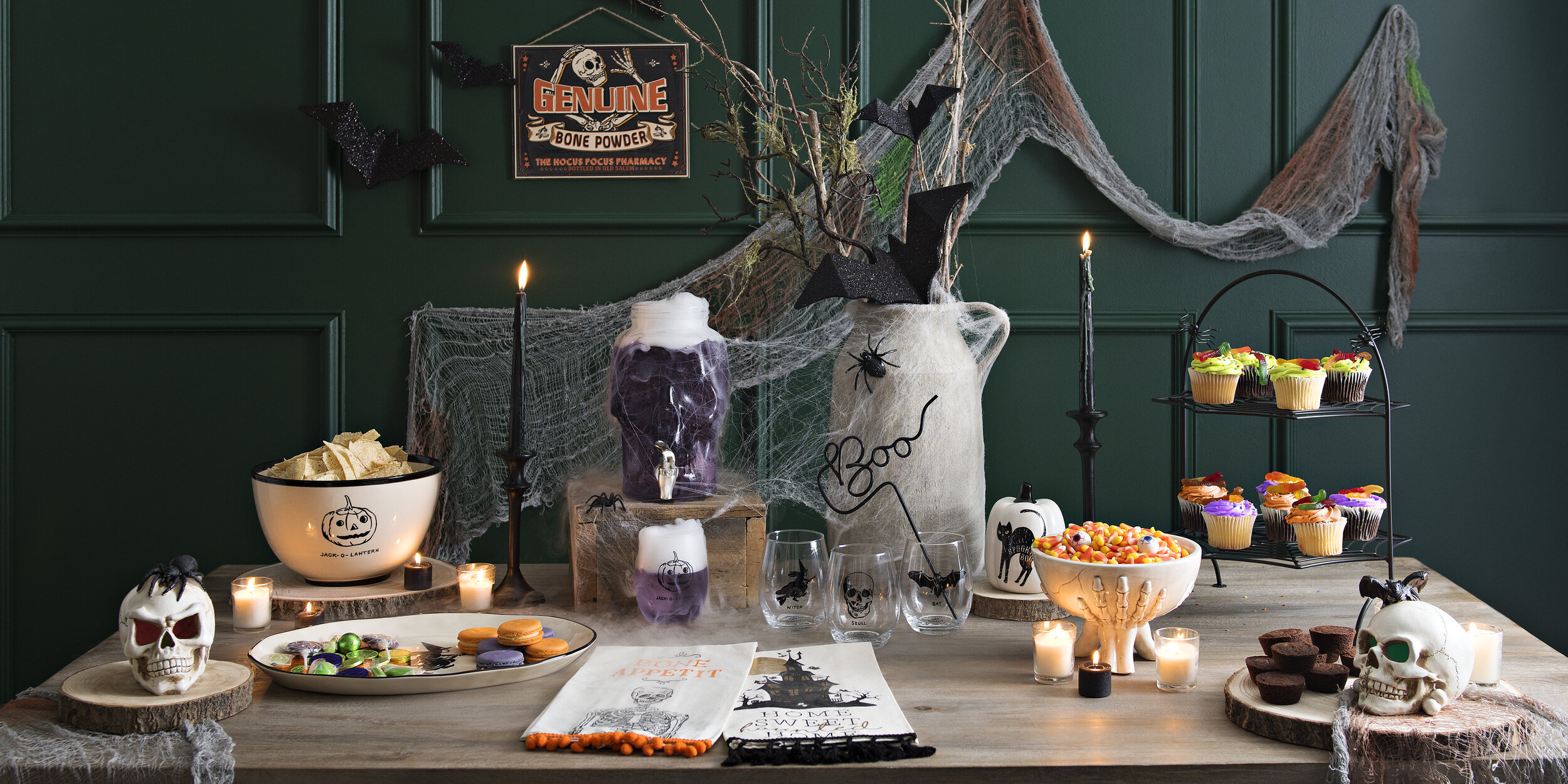 Kirkland's - No Tricks, Only Treats   Your Halloween Party Checklist