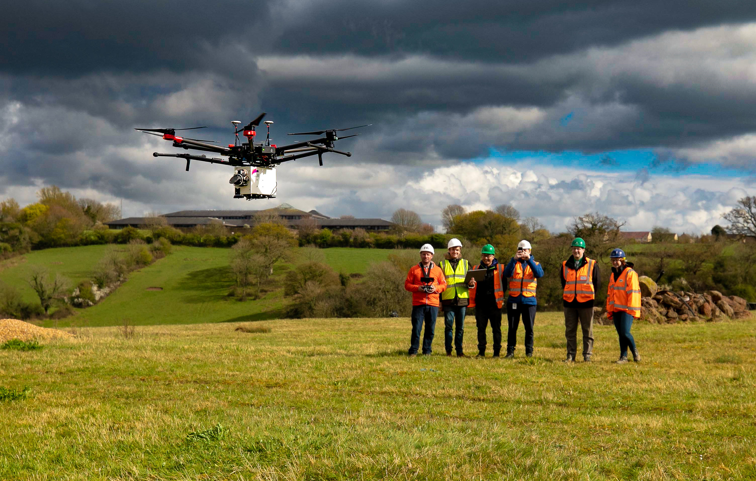 QLM  is set out to tackle the global problem of natural gas leaks using a world-first quantum sensing solution mounted onto unmanned aerial drones.