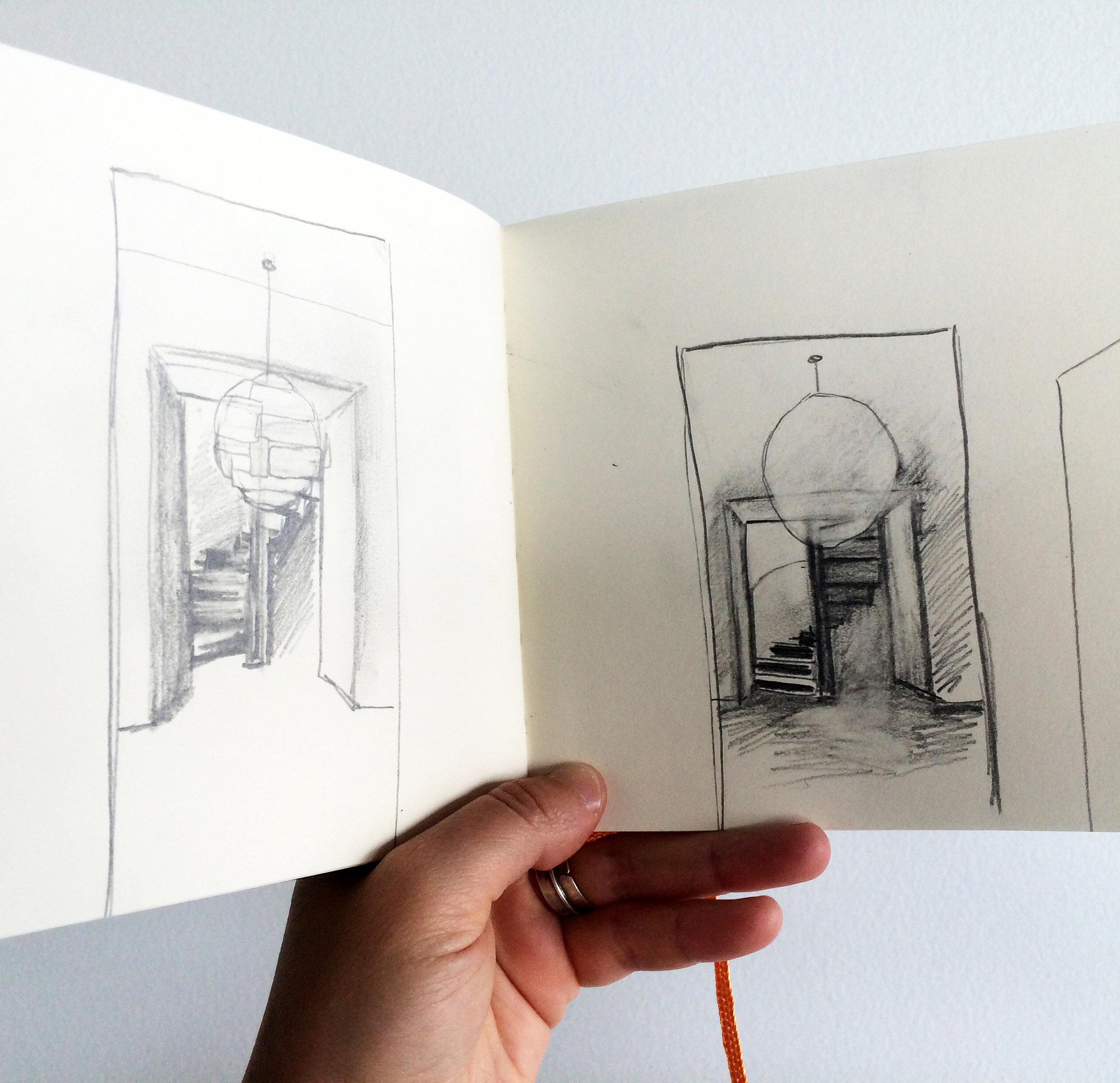 First Sketches of the Location of the Light