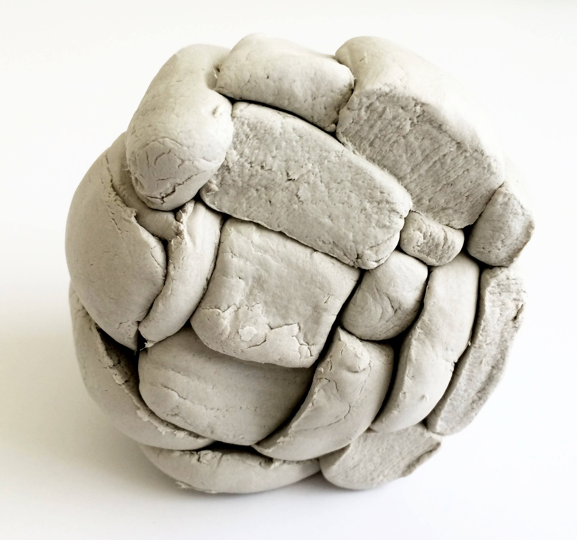 Clay Model of Stone Sphere