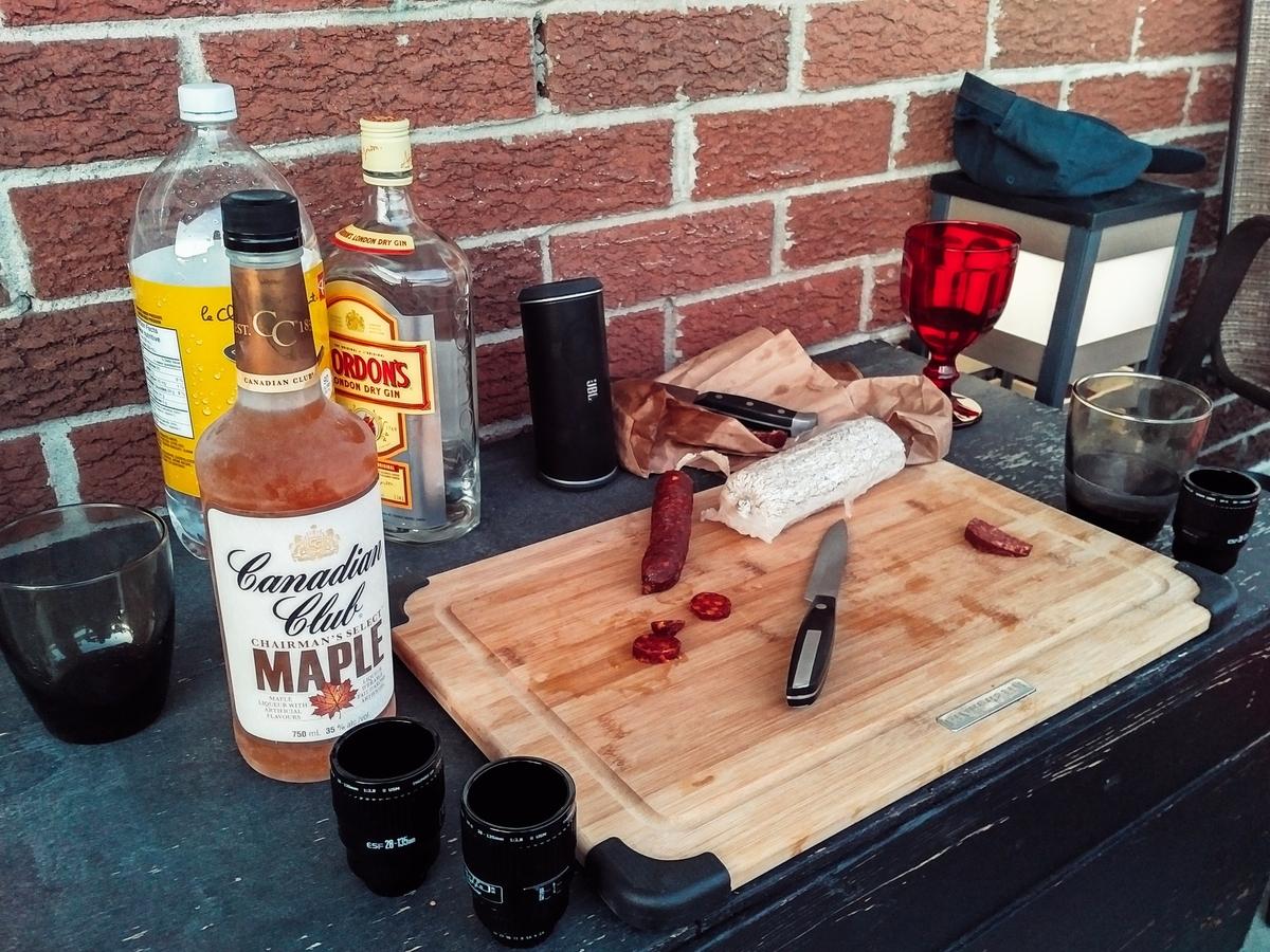 Maple Whisky And Sausages. All you need.