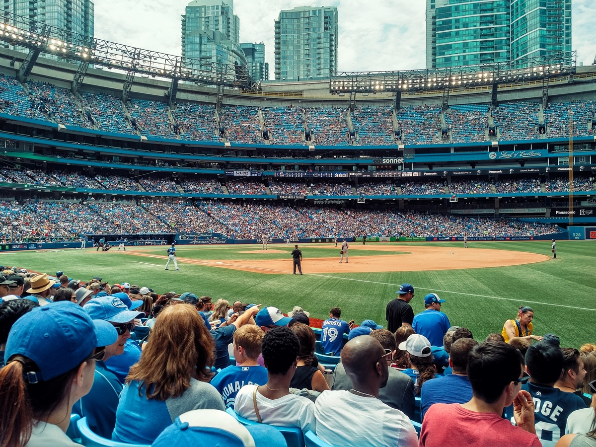 A game at the Skydome is always a good idea