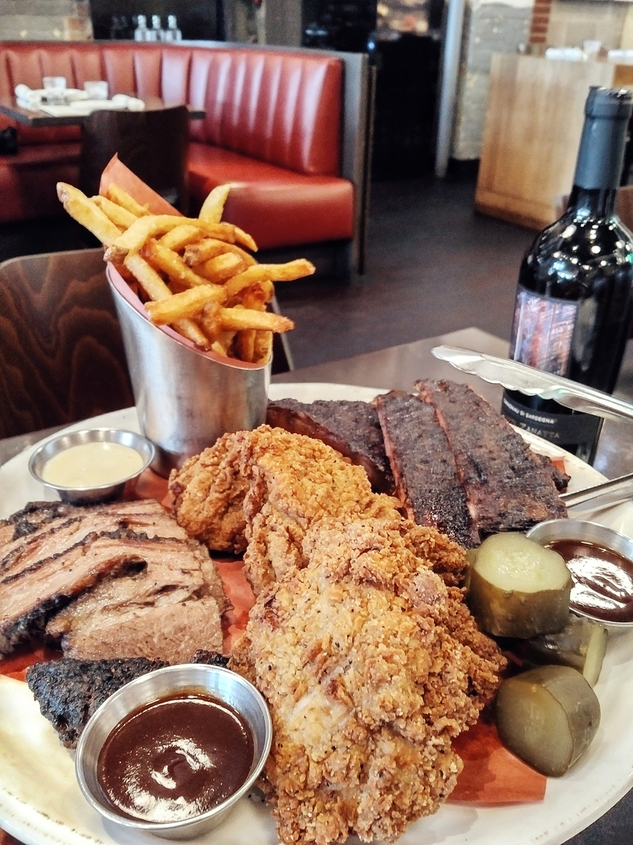 The Carbon Bar. With unbeatable briskets. And KFC!