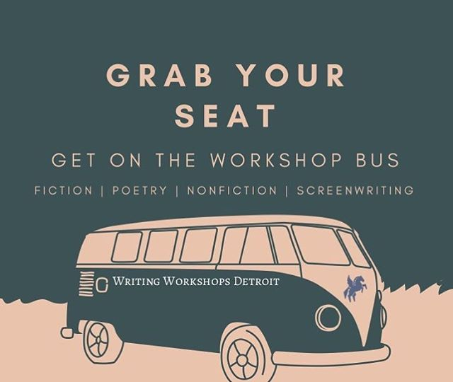 Our fall classes in Fiction, Nonfiction, and Screenwriting are now enrolling! Classes are intentionally small and inclusive and meet downtown at @BambooDetroit. Grab your seat now and avoid the waitlist! More info and registration here: writingworkshopsdetroit.com/all-classes/  #writingworkshopsdetroit #creativewriting #literarydetroit