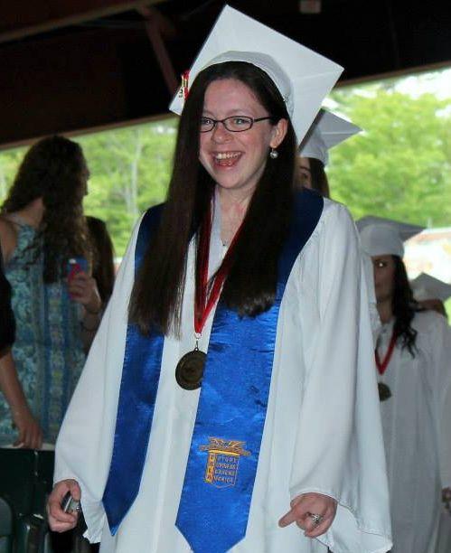 Congratulations laura on your graduation