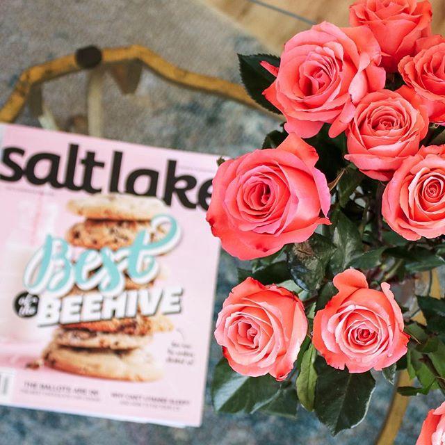 Summer sweetness. #saltlakemagazine
