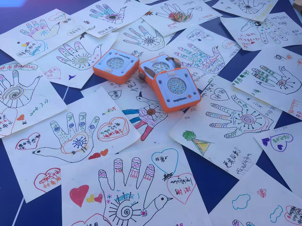 Amazing work from students in Thailand who have made their letters even more personal by creating this artwork!