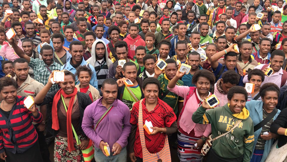 Students in PNG will now have a safe form of study in preparation for their upcoming exams.