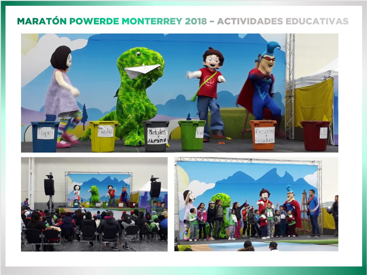 The 'Mi Gran Planeta' ('My Great Planet') interactive educational space debuted for the first time at packet pickup in 2018.
