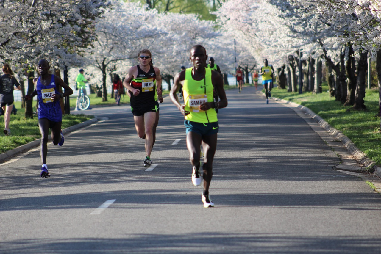 Credit Union Cherry Blossom Run. Washington, D.C. (Photo credit: George Banker)