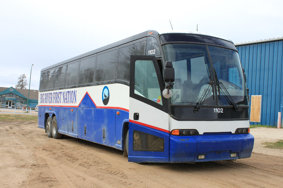 Big River First Nation Charter Bus