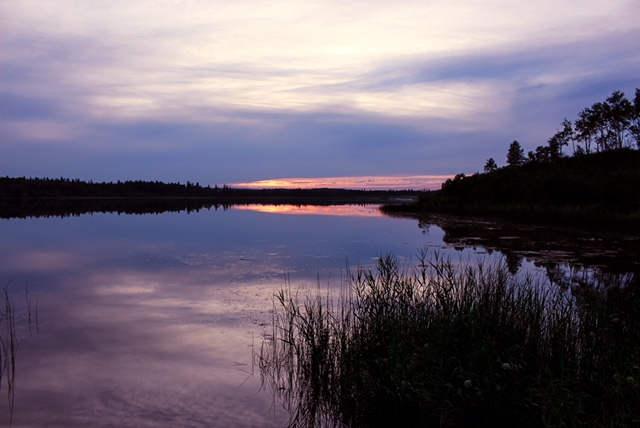 Deep Lake Sunset
