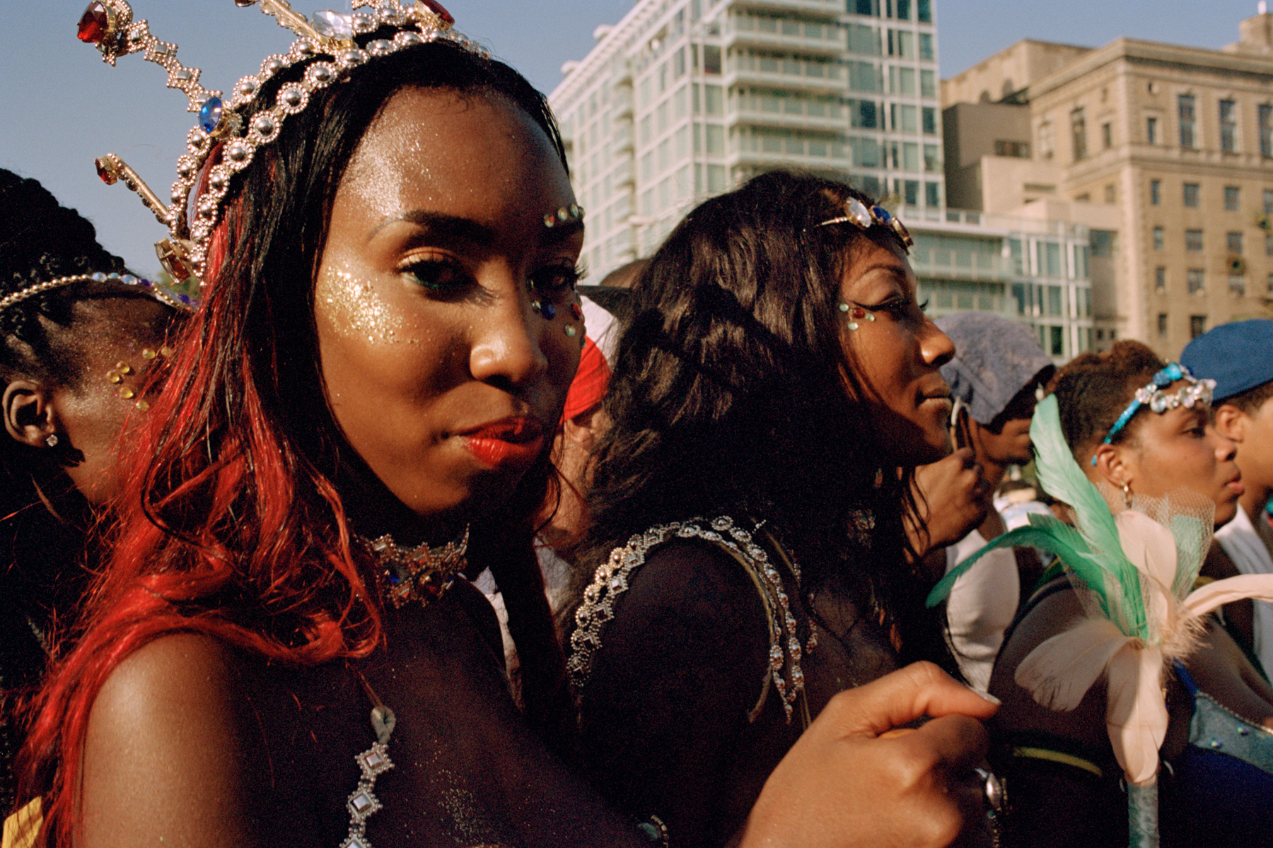 West Indian Day parade, Brooklyn, 2015
