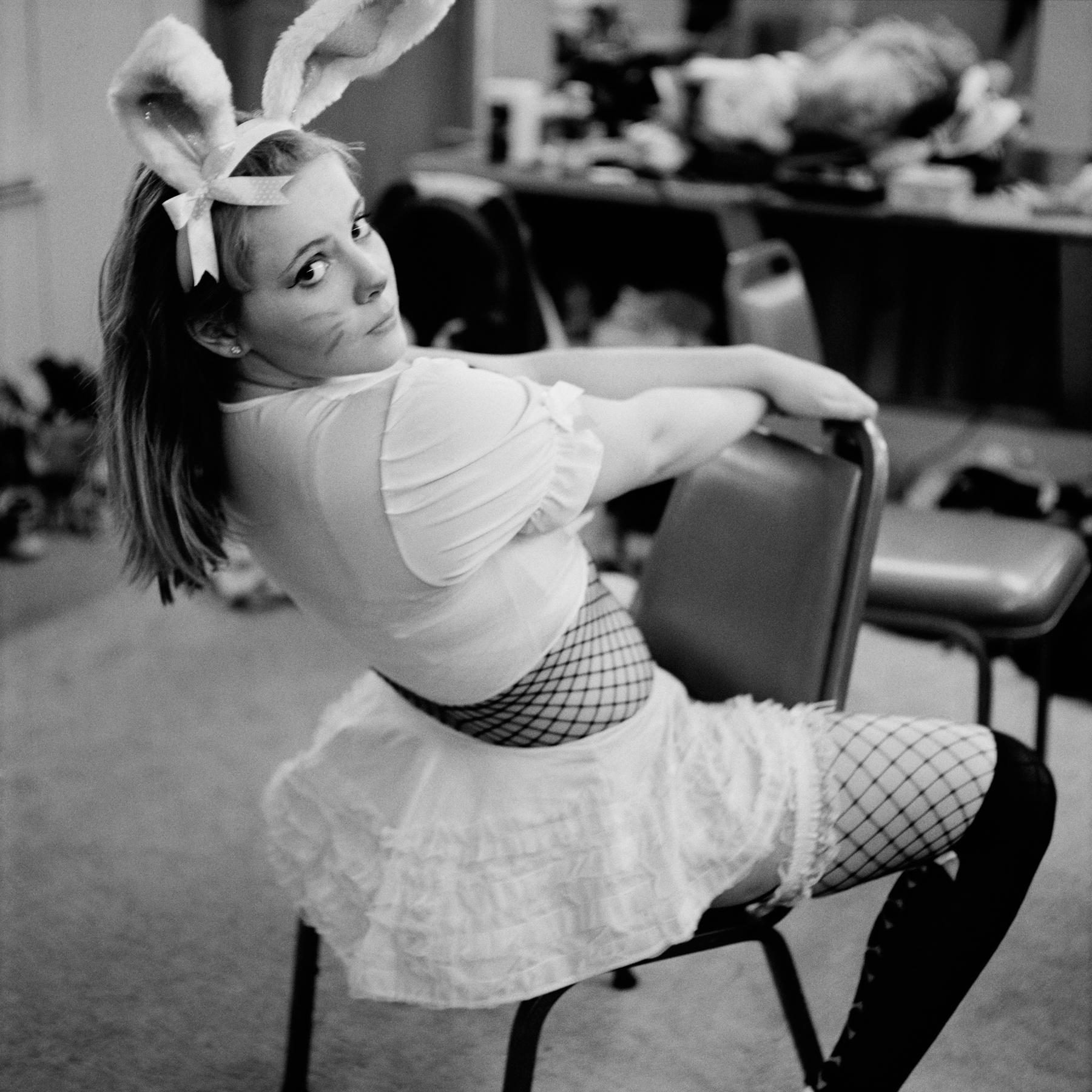Kitty as a bunny, 2011